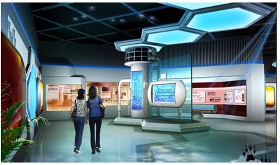科技馆多媒体互动展项方案设计及实施效果参考图片